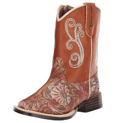 Twister Toddler Girls Elizabeth Floral Western Boot