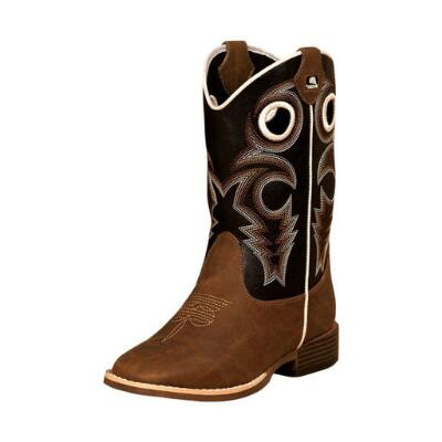Dbl Barrel Trace Youth Western Boot