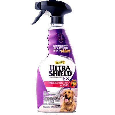 Ultrashield EX Carpet and Surface Spray for Dogs