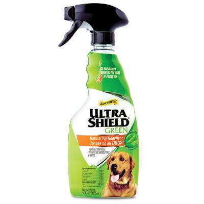 Ultrashield Green Natural Fly Repellent for Dogs