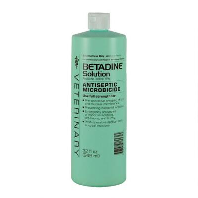 Betadine Solution Antiseptic Microbicide - 32 oz