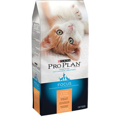 Purina Pro Plan Focus Kitten Chicken and Rice 3.5 lb