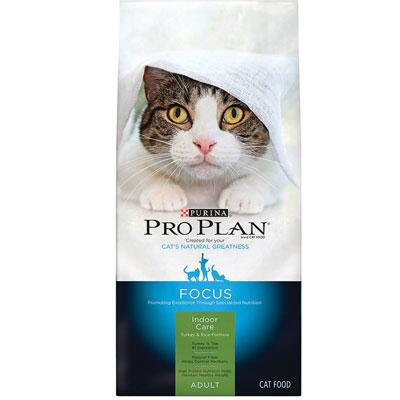 Purina Pro Plan Focus Cat Indoor Care Turkey and Rice 16 lb