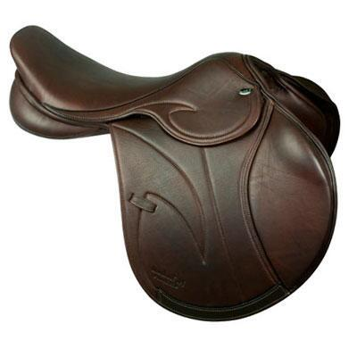 Brielle Platinum Close Contact Jumping Saddle-Floor Model Sale
