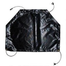 Modified Black Vinyl Mud Apron for Racebike - TB