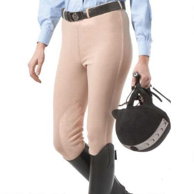 EquiStar Pull On Knee Patch Childs Breech