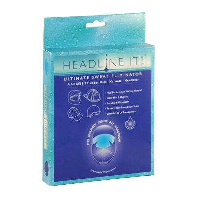 Headline It Helmet Liners 10 Pack