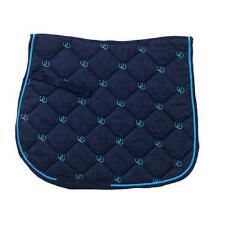 Lucky Horseshoes Embroidered AP Saddle Pad