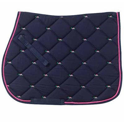 Turtles Embroidered AP Saddle Pad