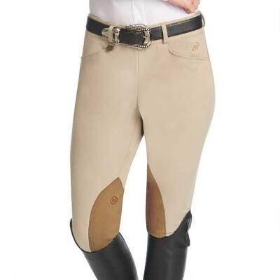 Ovation Euroweave DX Taylored SZ Ladies Knee Patch Breech