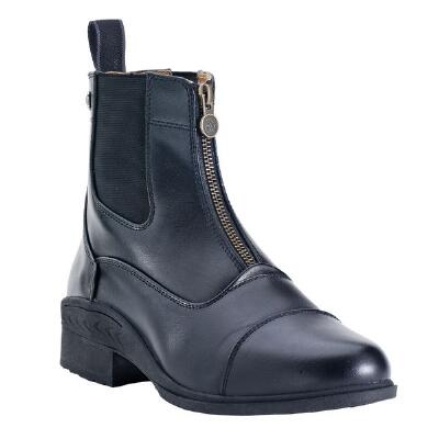 Ovation Quantum Zip Youth Paddock Boot Black