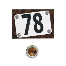 Number Pins Magnetic Set Of 4 - TB