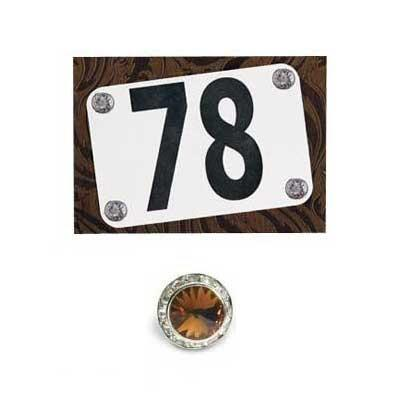 Number Pins Magnetic Set Of 4