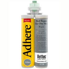 Vettec Adhere Black Glue On Shoe Material 210 cc Cartridge - TB