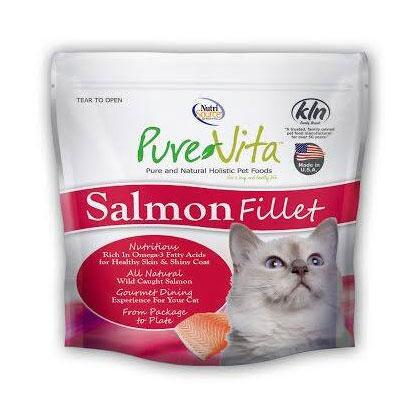 NutriSource Pure Vita Salmon Fillet Cat Treat 2 oz
