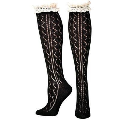 Blazin Roxx Lacy Boot Sock