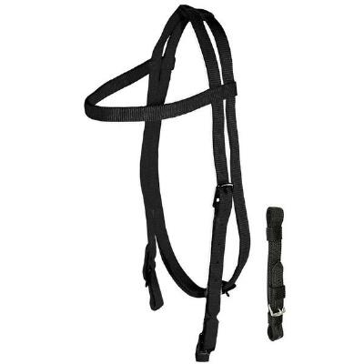 Nylon Thoroughbred Headstall