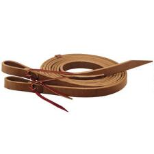 Weaver Split Reins Heavy Harness Leather .75 in x 7 ft - TB