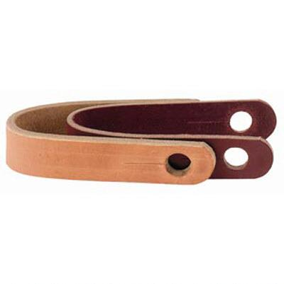 Slobber Strap Single Ply Harness Leather
