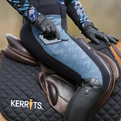 Kerrits Embossed PowerStretch Pocket Ladies Riding Tight