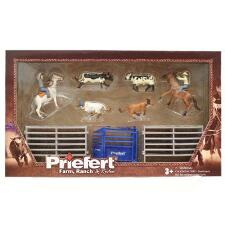 Priefert® Farm Ranch & Rodeo Team Roping Play Set
