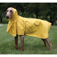 Puddles Rain Coat with Hood - TB