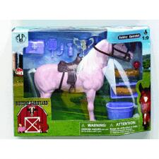 Horse Figure With Grooming Set
