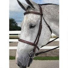 HDR English Bridle Pro Stress Free Fancy Stitch Padded - TB