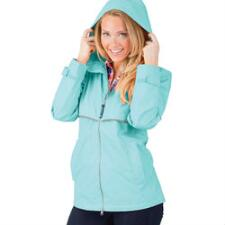 New Englander Womens Rain Jacket with Left Chest Embroidery - TB