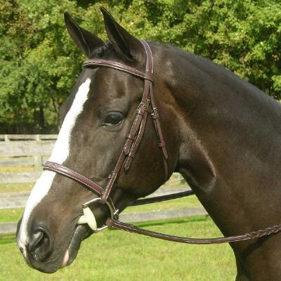 Red Barn Sovereign Hunter Fancy Stitched English Bridle