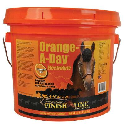 Finish Line Orange-A-Day Electrolyte - 30 lb