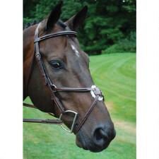 KL Select Red Barn Equinox Figure 8 Raised Fancy Stitched Bridle - TB