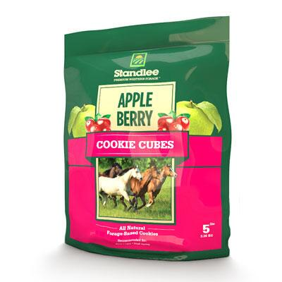 Standlee Apple Berry Cookie Cubes 5 Lb