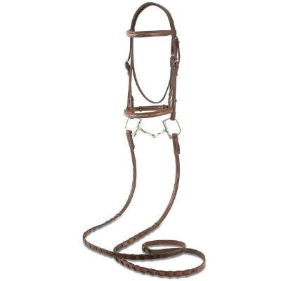 Beval Stamford Fancy Raised Padded English Bridle