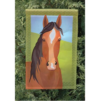 Silly Filly 12 inch Garden Flag
