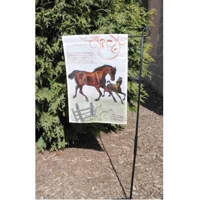 All About Horses 12 inch Garden Flag