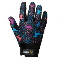 Noble Outfitters Perfect Fit Kids Glove - Running Horses - TB
