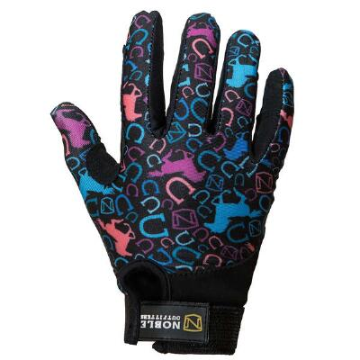 Noble Outfitters Perfect Fit Kids Glove - Running Horses