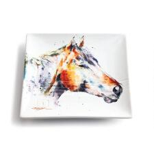 Watercolor Horse Snack Plate - TB