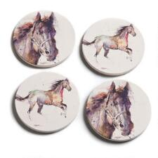Watercolor Horse Coaster Set of 4 - TB