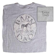Barn Dad Short Sleeve Mens Tee