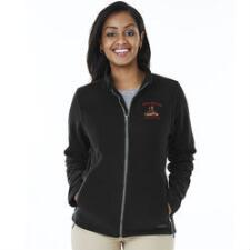Custom Ladies Fleece Jacket with Left Chest Embroidery - TB