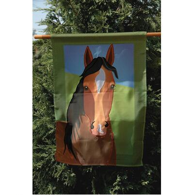 Silly Filly 28 inch House Flag