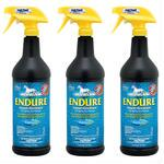Farnam Endure Sweat-Resistant Fly Repellent Spray 32 oz 3 Pack Special - TB