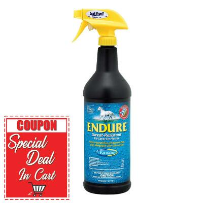 Farnam Endure Sweat-Resistant Fly Repellent Spray 32 oz
