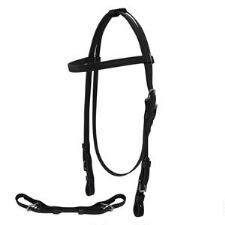 Jacks Thoroughbred Beta Headstall and Curb Strap - TB