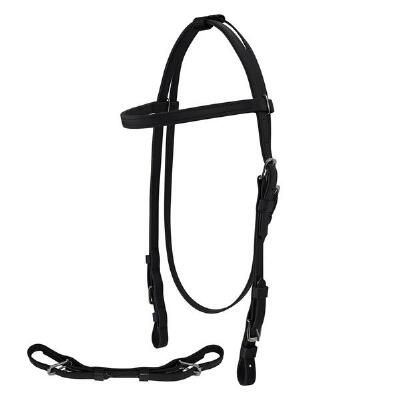 Jacks Thoroughbred Beta Headstall and Curb Strap