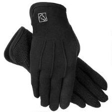 Slip On Gripper Glove Black