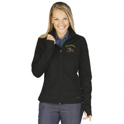 Axis Soft Shell Ladies Jacket Left Chest Embroidered