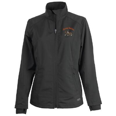 Axis Soft Shell Ladies Jacket Full Back and Left Chest Embroidered